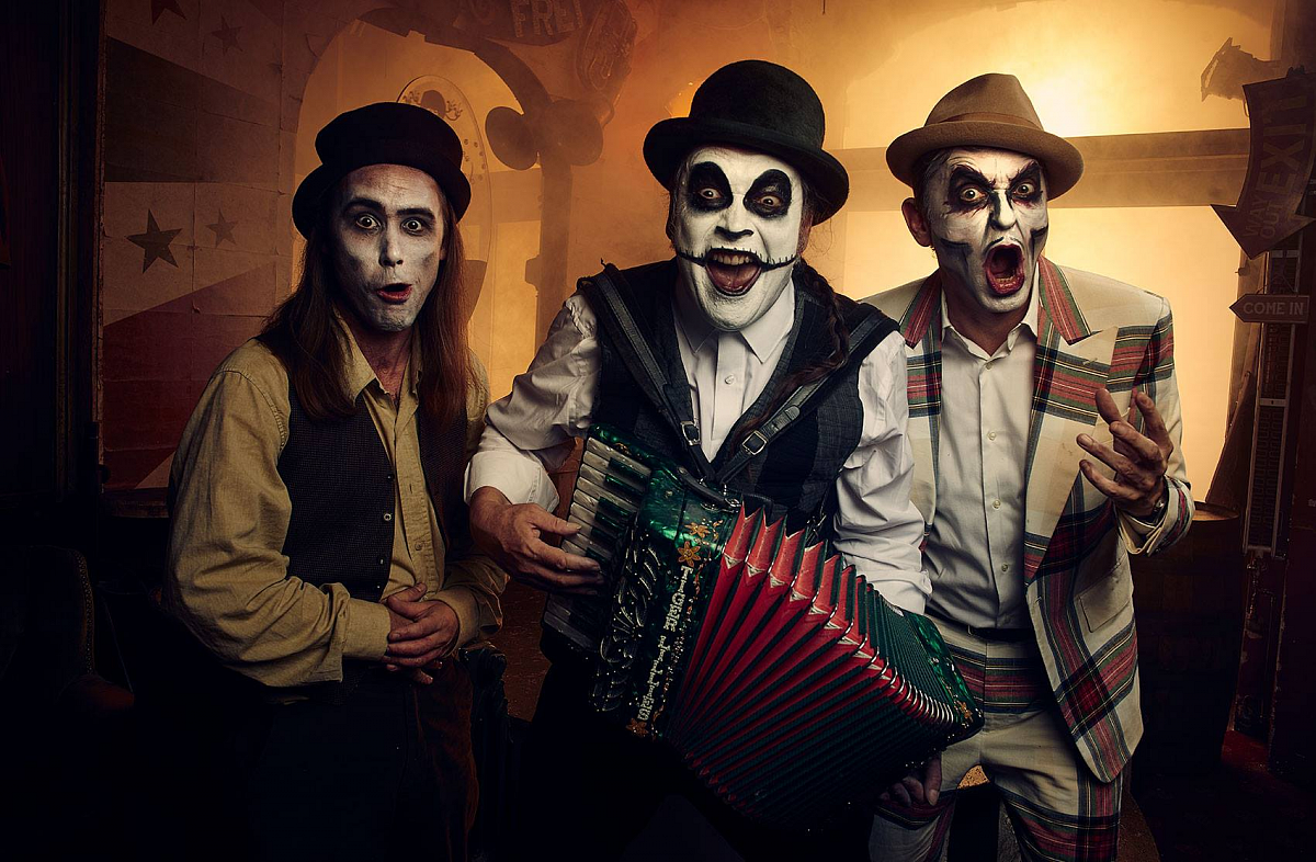 The Tiger Lillies & Berg Orchestra — Bohemian Nights / 26 & 27 September / world premiere / music