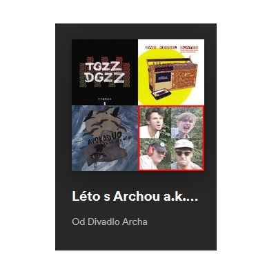 Léto s Archou / Spotify playlist