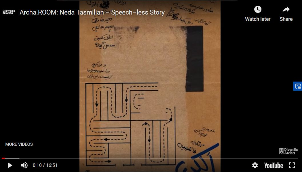 Neda Tasmilian – Speech–less Story
