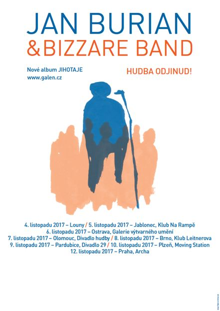 Jan Burian & Bizzare Band — Jihotaje